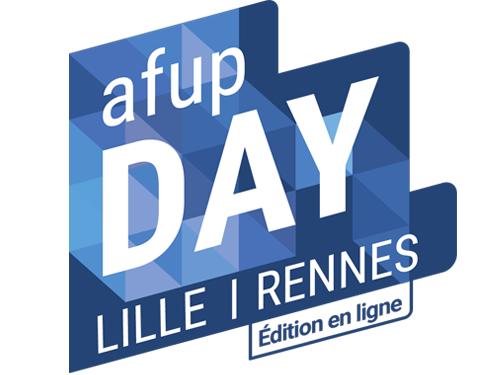 logo de l'AFUP Day 2021 Lille / Rennes - édition en ligne