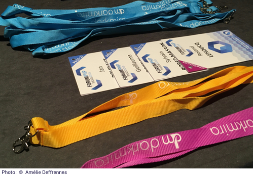 photo des pass au Forum PHP 2019
